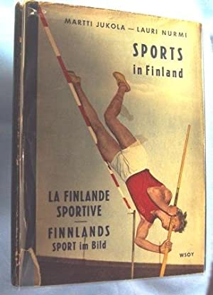 SPORTS IN FINLAND (1952) Text in English, Finnish and German: Sjoblom, Paul