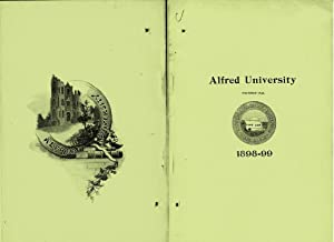 ANNUAL OF ALFRED UNIVERSITY (1898) For College Year 1898-99: Unknown