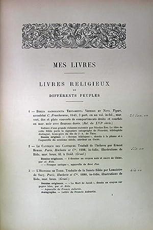 MES LIVRES MES DESSINS MES AUTOGRAPH (CATALOGUE): Meyer, Arthur editor