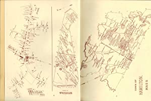 THE OLD MAPS OF SOUTHERN ESSEX COUNTY, MASS. IN 1884 52 Old Maps Reproduced. Houses with Family ...