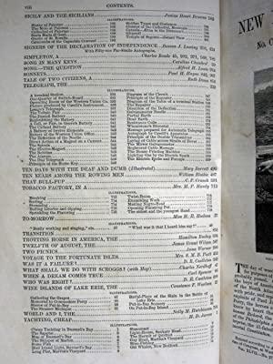 HARPER'S NEW MONTHLY MAGAZINE, VOLUME XLVII, JUNE TO NOVEMBER 1873: Various Authors