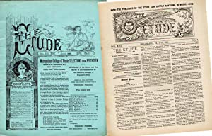 THE ETUDE ( JULY,1895; VOLUME XIII, NO. 7) A Monthly Magazine for the Teachers and Students of ...