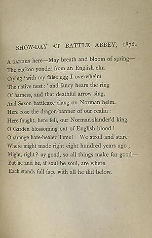 HAROLD A DRAMA: Tennyson, Alfred