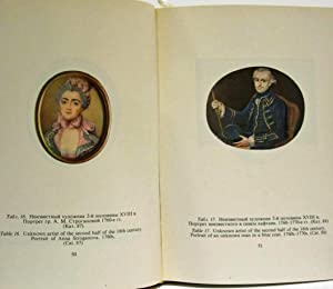 PORTRAIT MINIATURES FROM THE COLLECTION OF THE RUSSIAN MUSEUM, XVIII - EARLY XX CENTURY (IN SLIP ...