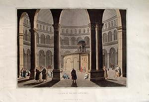 "Church of the Holy Sepulchre"" (Grabeskirche in: Mayer, Luigi (1755"