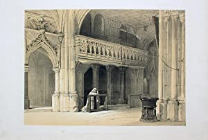 """Chapelle du Couvent de Nonenberg a Saltzbourg"""": Haghe, Louis (1806"""
