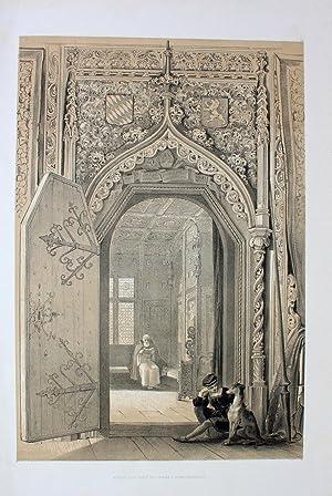Entrée de la salle des Princes a: Haghe, Louis (1806