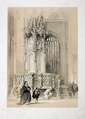 Sacrament House in the Church of St.: Nürnberg: