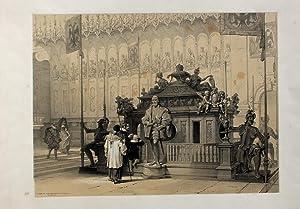 "Tomb of the Emperor Ludovic. Munich"" originale: Haghe, Louis (1806"