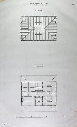 Nordamericanische Bauart. Details von den Wohnhäusern in: USA:
