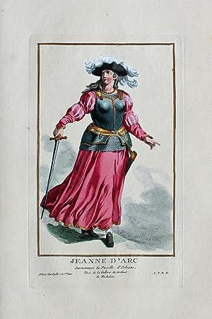 """Jeanne d'Arc. Surnommée la Pucelle d'Orleans"""" originale: Jeanne d'Arc (1412"""