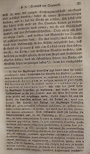 Handbuch der Dogmatik der evangelisch- lutherischen Kirche oder Versuch einer beurtheilenden ...