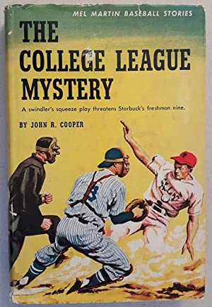 Mel Martin Baseball Stories #5: The College League Mystery
