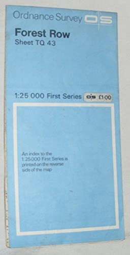 Forest Row, Sheet TQ 43 1:25000 First Series Map