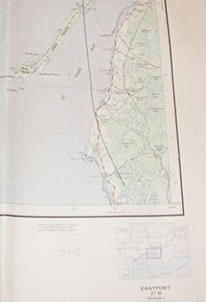Eastport, Canada and United States Map sheet: U.S. Army Map