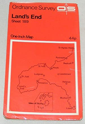 Land's End. Sheet 189 One-Inch Map Seventh Series
