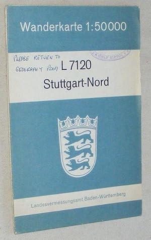 L7120 Stuttgart-Nord. Wanderkarte 1:50000: Landesvermessungsamt Baden-Württemberg