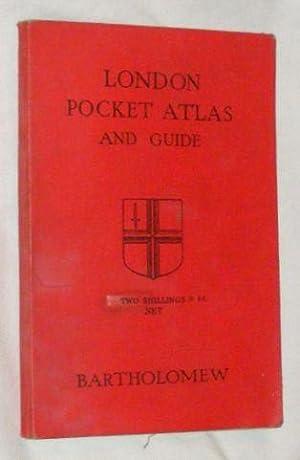 London Pocket Atlas and Guide: John Bartholomew