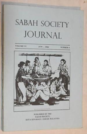 Sabah Society Journal volume VI number 4: Puan A J