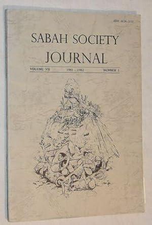 Sabah Society Journal volume VII number 1: Puan A J