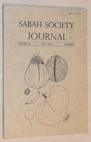 Sabah Society Journal volume VII number 2: C J Folland