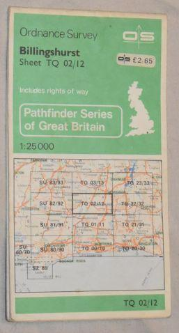 Billingshurst 1:25000 Pathfinder Map Sheet TQ 20/12 (1267)
