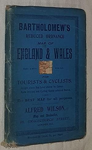 Kent, Sheet 31, Bartholomew's Reduced Ordnance Map of England & Wales for Tourists & Cyclists. 2 ...