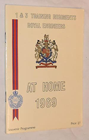 Corps of Royal Engineers, 1 and 3 Training Regiments At Hope 1969. Souvenir Programme