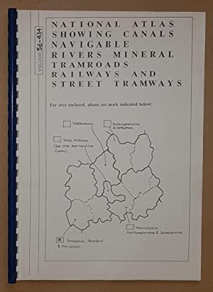 National Atlas Showing Canals, Navigable Rivers, Mineral Tramroads, Railways, and Street Tramways...