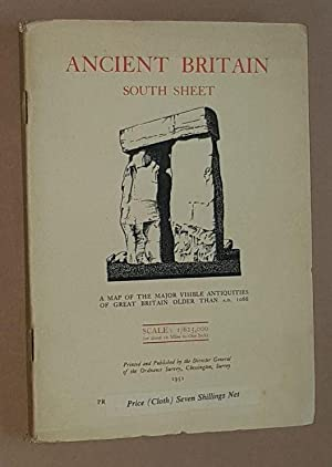 Ancient Britain South Sheet (Sheet 2): a map of the major visible antiquities of Great Britain ol...