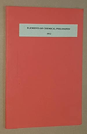 Elements of Chemical Philosophy by Humphry Davy 1812, a review
