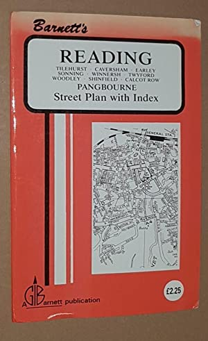 Barnett's Reading, Pangbourne Street Plan with Index