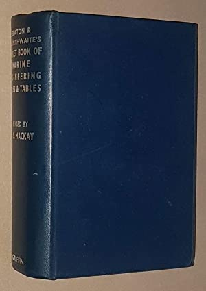 Seaton & Rounthwaite's Pocket-Book of Marine Engineering Rules and Tables for the use of marine e...
