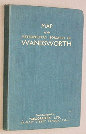 Map of the Metropolitan Borough of Wandsworth [with Index of Streets]