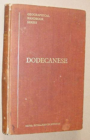 Dodecanese (B.R. 500 Geographical Handbook Series)