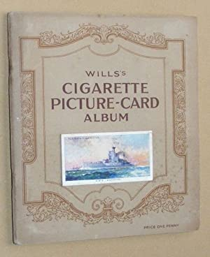 Modern Naval Craft Cigarette Cards set in Wills's Cigarette Picture-Card Album