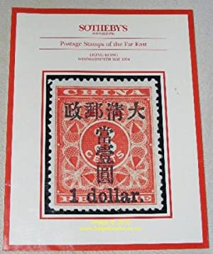 Postage Stamps of the Far East: Hong: Sotheby's