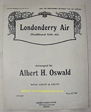 Londonderry Air (Traditional Irish Air): Albert H Oswald