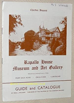 Chardon Bequest: Rapallo House Museum and Art Gallery Guide & Catalogue