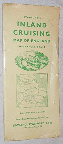 Stanford's Inland Cruising Map of England for Larger Craft. 1:500000