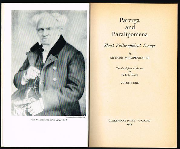 parerga and paralipomena a collection of philosophical essays Parerga and paralipomena a collection of philosophical essays parerga_and_paralipomena_a_collection_of_philosophical_essayspdf based on the pdf of this book, you can see how the book will give you many things.