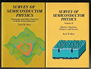 Survey of Semiconductor Physics (TWO VOLUME SET): Boer, Karl W.