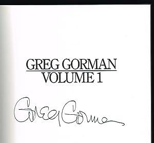 Greg Gorman, Volume 1 (SIGNED COPY): Gorman, Greg
