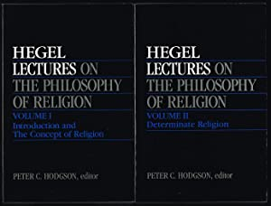 Introduction to Hegel's Philosophy of Religion