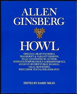Howl: Original Draft Facsimile, Transcript & Variant: Ginsberg, Allen; Ed.