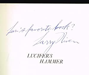 Lucifer's Hammer (SIGNED BY LARRY NIVEN): Niven, Larry; Pournelle,