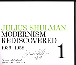 Julius Shulman: Modernism Rediscovered (FIRST EDITION 3-VOLUME SET SIGNED BY JULIUS SHULMAN)