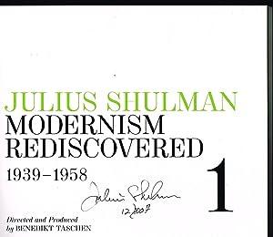 Julius Shulman: Modernism Rediscovered (FIRST EDITION 3-VOLUME: Shulman, Julius; Drohojowska-Philp,