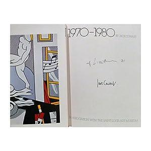 Roy Lichtenstein, 1970-1980 (SIGNED BY ROY LICHTENSTEIN): Cowart, Jack; Lichtenstein,