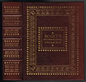 Roget's International Thesaurus, Sixth Edition (Easton Press Full Leather Collector's Edition)